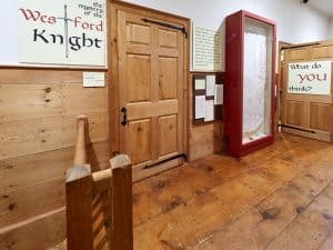 Photo of the Westford Knight Exhibit