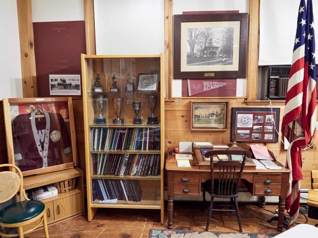 Photo of the Westford Academy Exhibit