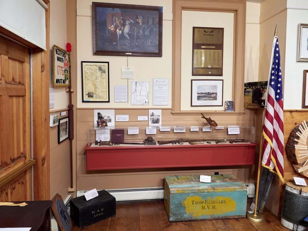 Photo of the American Revolution Exhibit