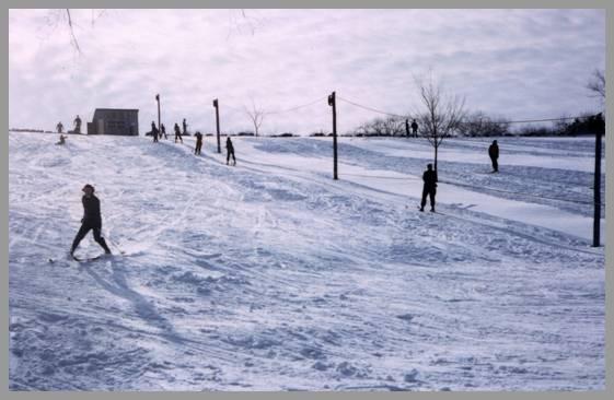 Blake's Hill skiing photo