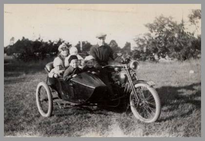 Photo of The Crocker Family Chariot of 1923.