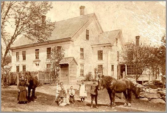 Blaisdell farm from 1899.