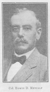 Image of Col. Edwin D Metcalf
