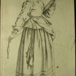 Young Woman with distaff