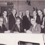 Photo of WA Trustees with Arnold Wilder (third from left)