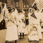 1920's Women Suffrage Victory Rally and Promenade