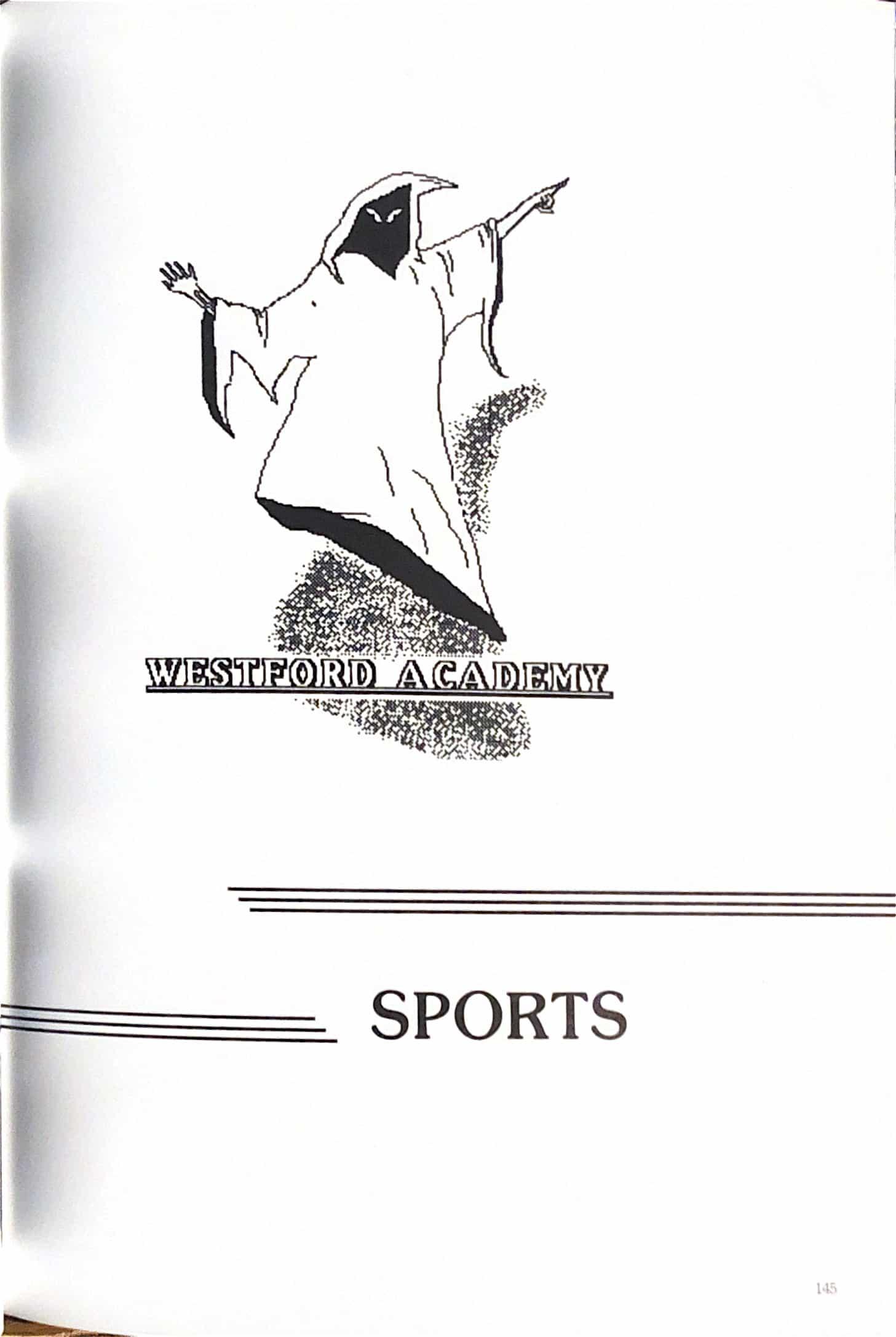 1987 Yearbook Interior