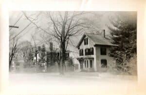 Photo was taken around 1937.