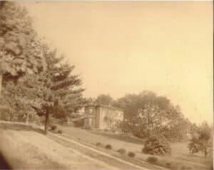 Photo was taken around 1900.