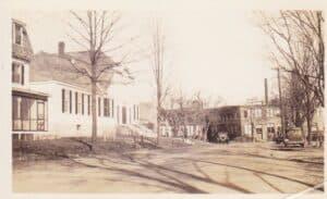 Photo was taken around 1920.